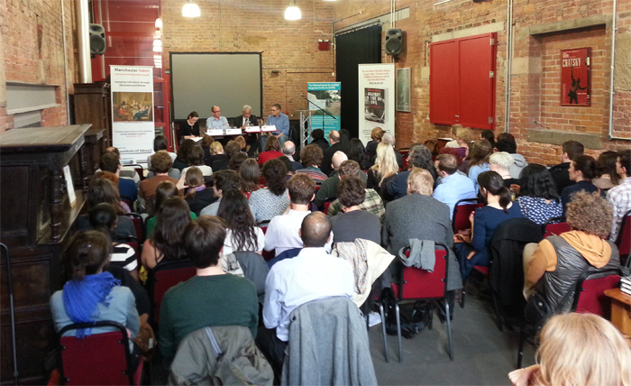 Genocide discussion at International Anthony Burgess Foundation