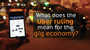 Uber and the gig economy