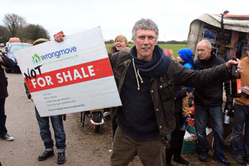 Fracking Protests and Bez