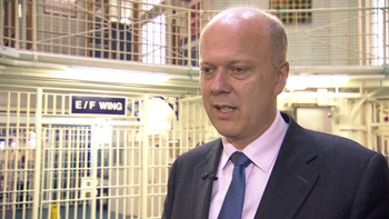 Chris Grayling looking to reform prisons