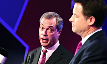 Nigel Farage not following the European line on Ukraine