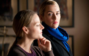 Foster and Winslet in Carnage