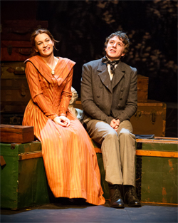 David Copperfield (Jack Wilkinson) with Agnes (Joanna Higson)