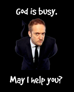 Derren Brown - filling in for God?