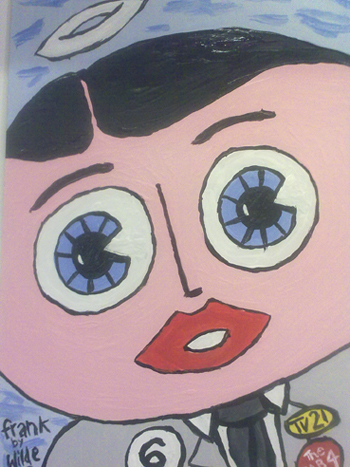 Frank Sidebottom 'Halo' by Paul Wilde