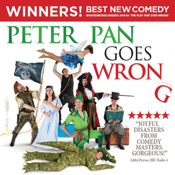 Peter Pan Goes Wrong at The Lowry
